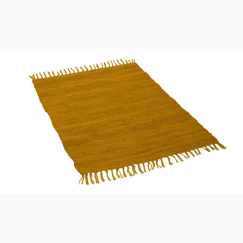 Handgeweven tapijt, curry