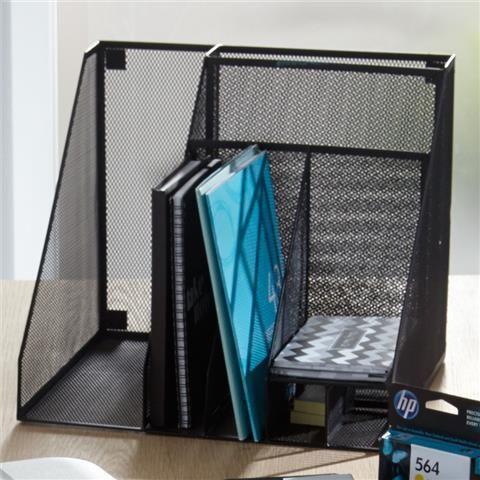 Office One Mesh Desk Organiser | Kmart | O.C.D. Office ...