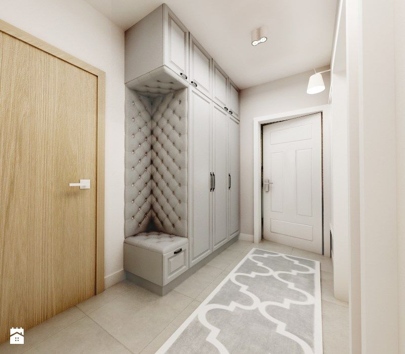 i entre i nyahuset med tre i stedet for polstring hus inspirasjon pinterest flure. Black Bedroom Furniture Sets. Home Design Ideas
