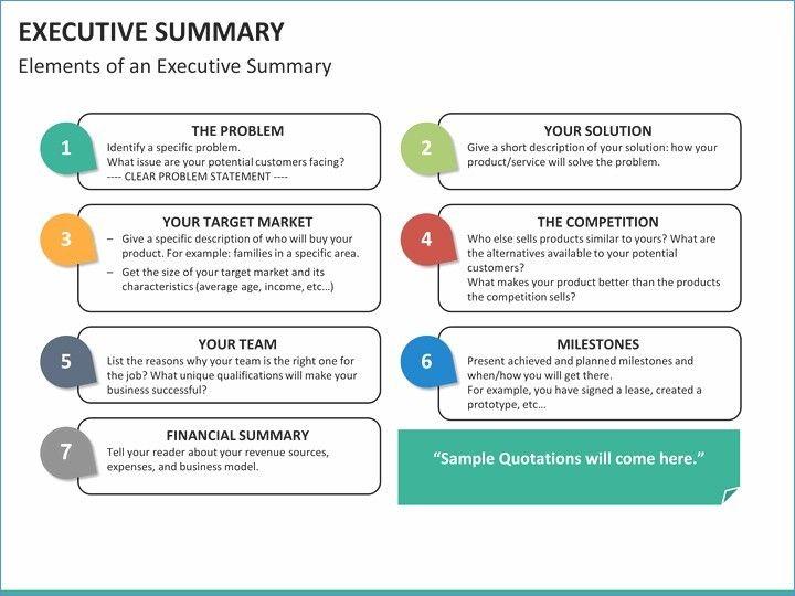 executive summary powerpoint example joselinohouse work project