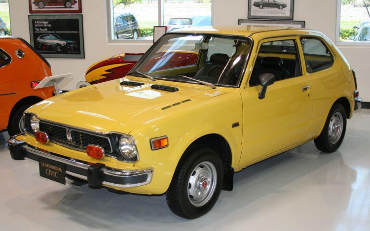 1970 honda civic carros antiguos voiture et vieilles. Black Bedroom Furniture Sets. Home Design Ideas