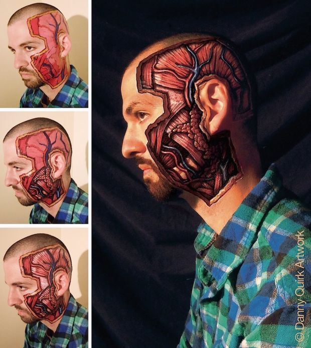 Incredibly Detailed Anatomical Body Art Reveals What S Right Beneath Our Skin Anatomy Art Body Painting Pictures To Draw