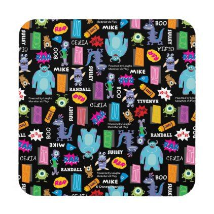 Monsters, Inc. | Character Pattern Coaster