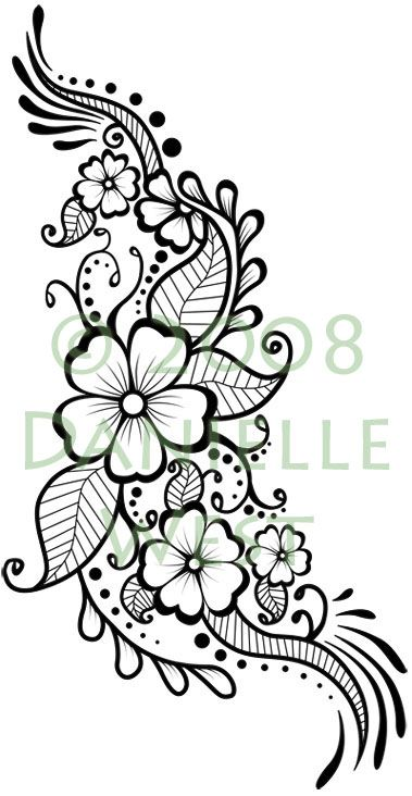 769f333bf Tattoo For A Friend 4.5 Mehandi Designs, Flower Tattoo Designs, Henna  Tattoo Designs,