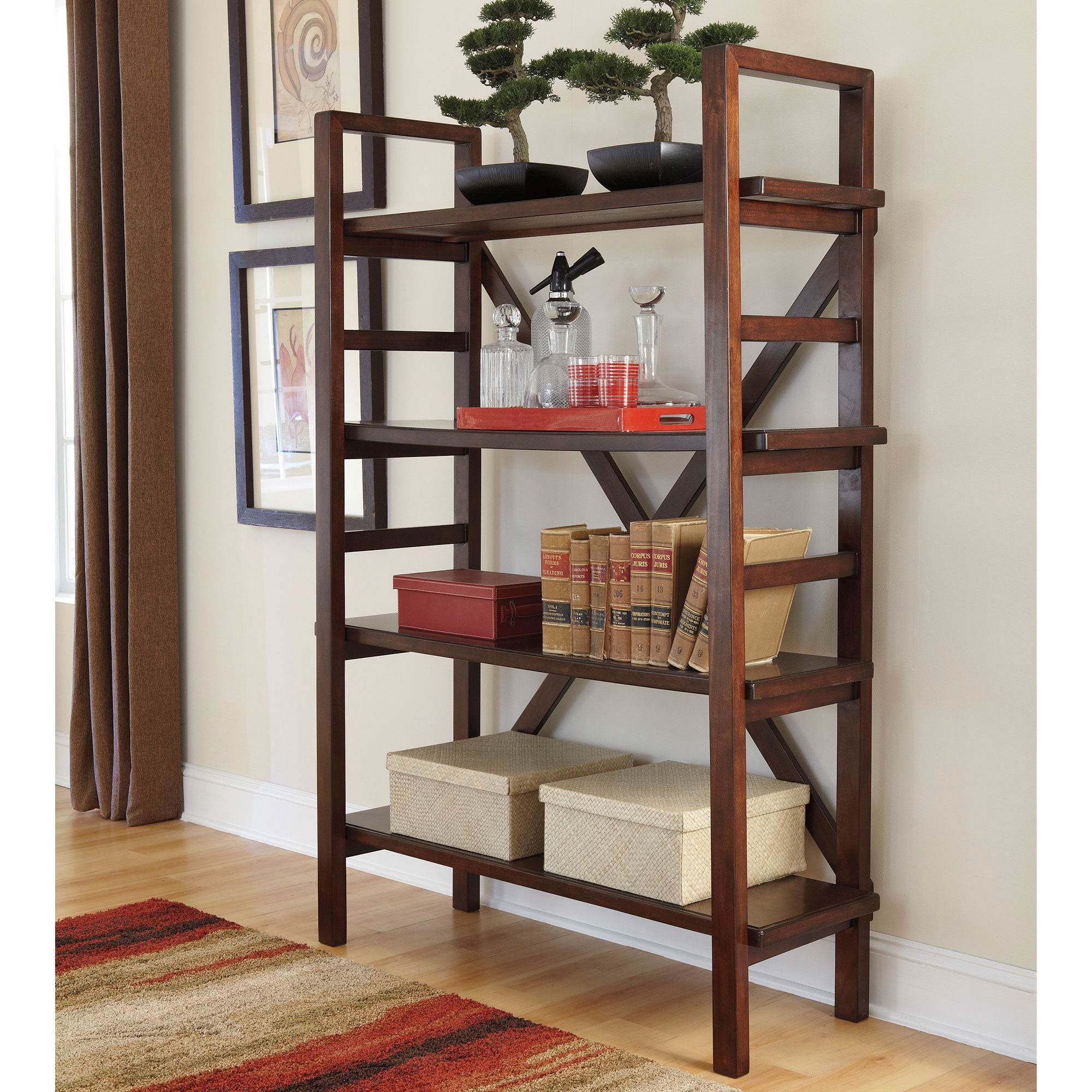 Exchange Online Store H131 Product Hindell Park Bookcase Ashley Furniture Open Bookcase Bookcase