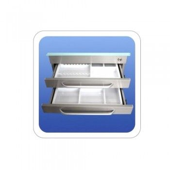 Stainless Dental Clinic Cabinet