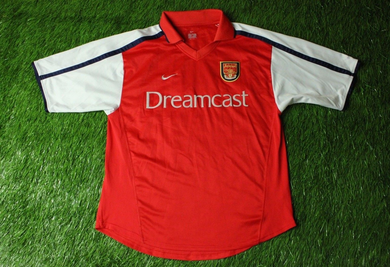 9353ec1f77f ARSENAL LONDON ENGLAND 2000 2002 RARE FOOTBALL SHIRT JERSEY HOME NIKE  ORIGINAL (eBay Link)