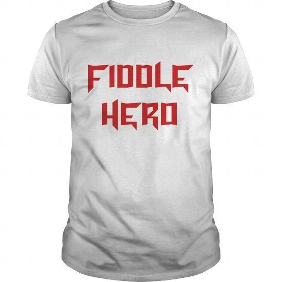Cool  fiddle hero T shirt