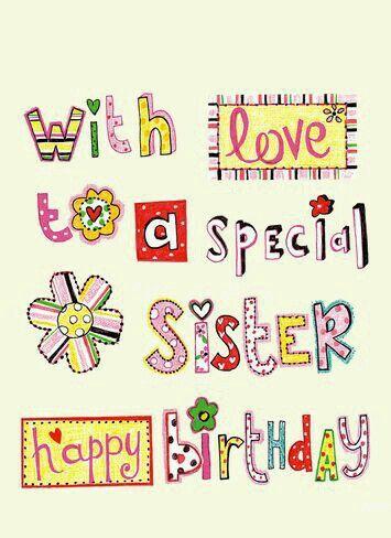 Pin By Roxane Barnes On Happy Birthday Sister Happy Birthday