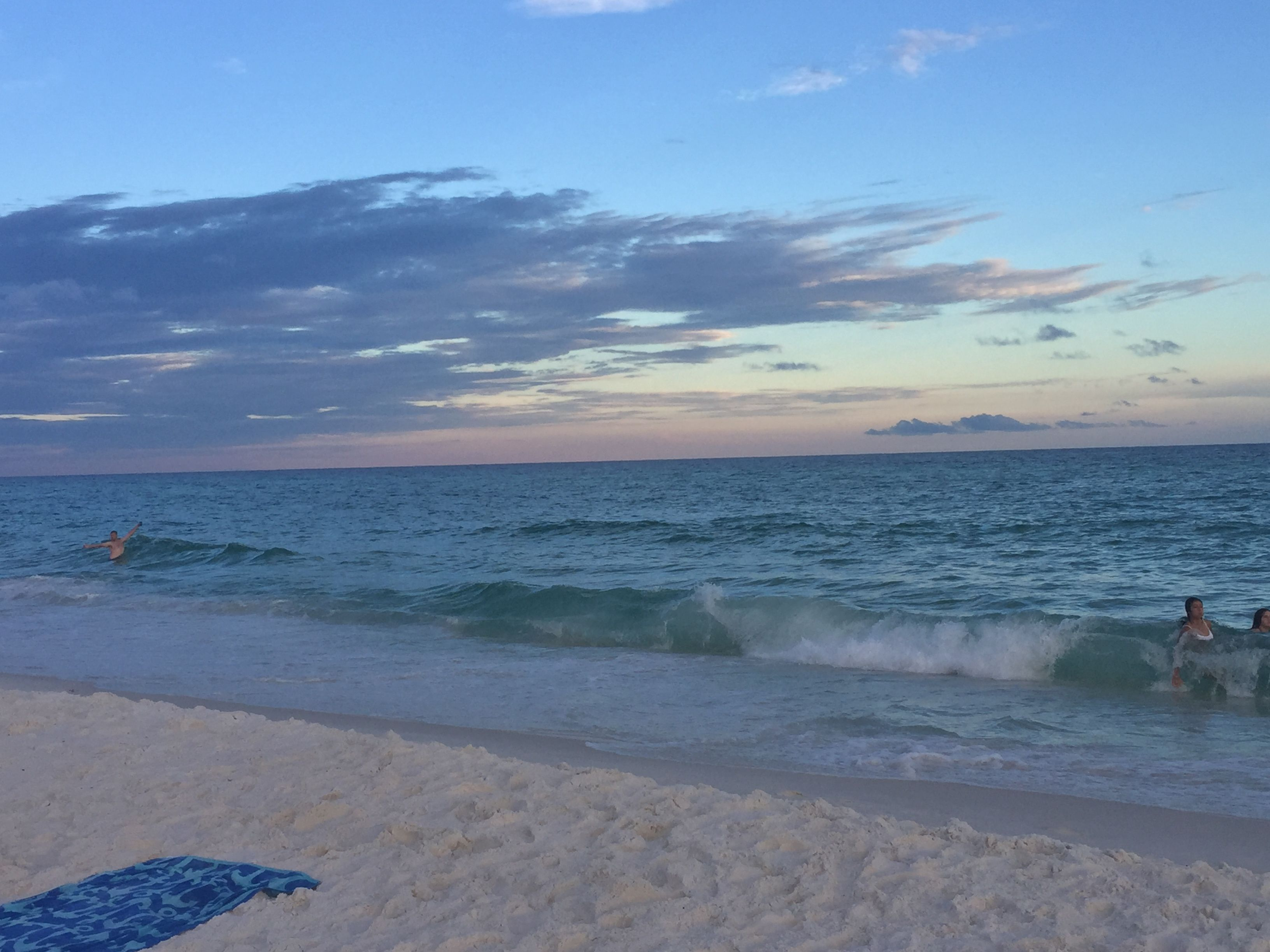 Crystal Sands Beach At Sunset Destin Florida Travel Photography Love Beautiful Nature Ocean