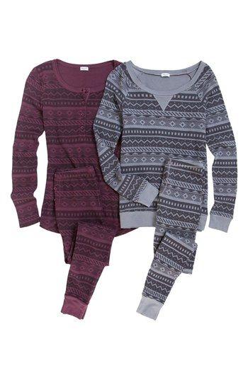 Splendid Fair Isle Thermal Leggings | Nordstrom | Clothes/ Fashion ...