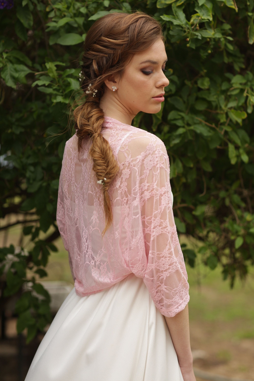 42b4e3dd23 ... Bridal plus size lace shawl for a special look. #weddingshawl  #bridalcoverup #xlweddingsleeves #blushwedding #plussizewedding  #shoulderwrap #blushshawl