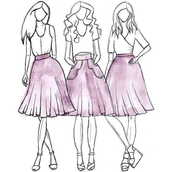 Veronika skirt sewing pattern | Costura y Falda
