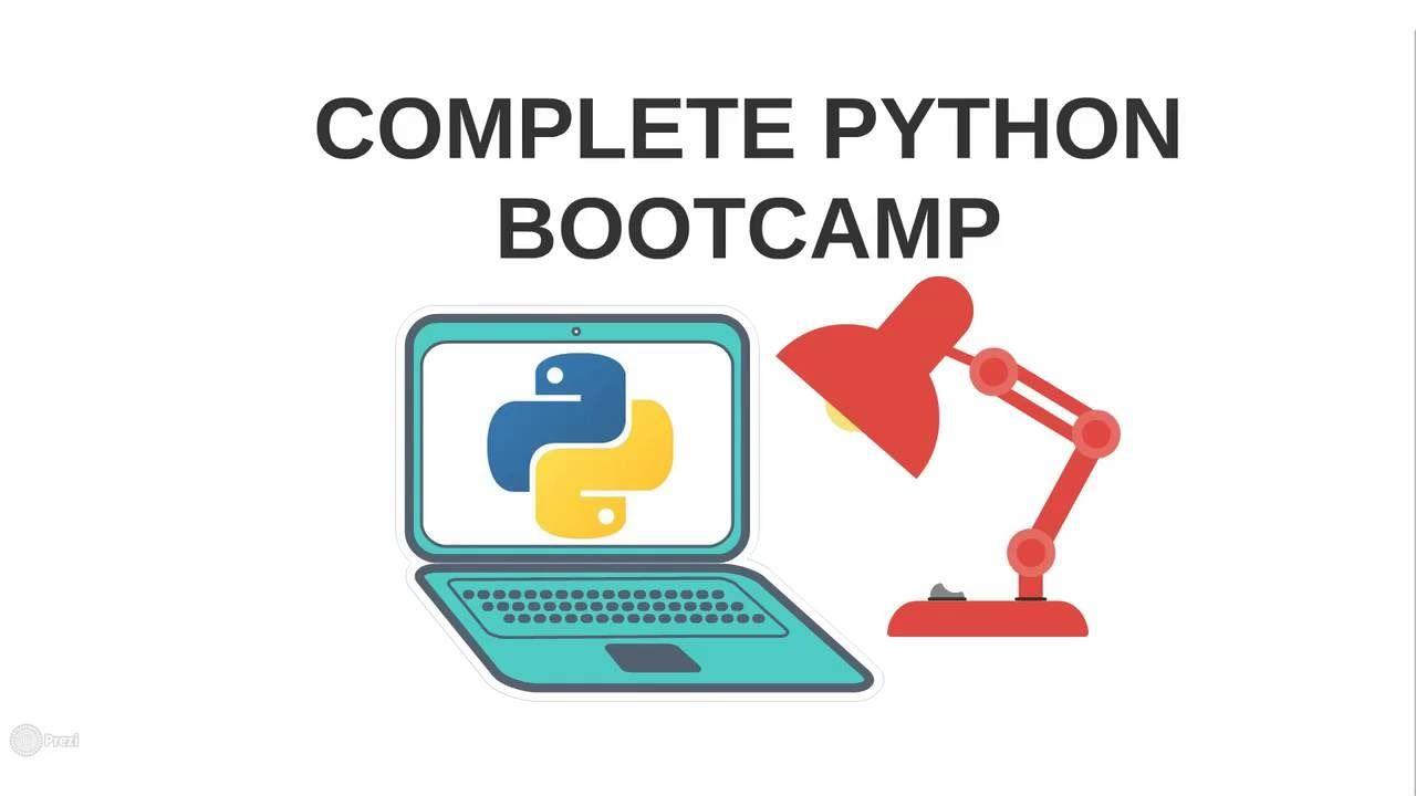 Complete python bootcamp python programming