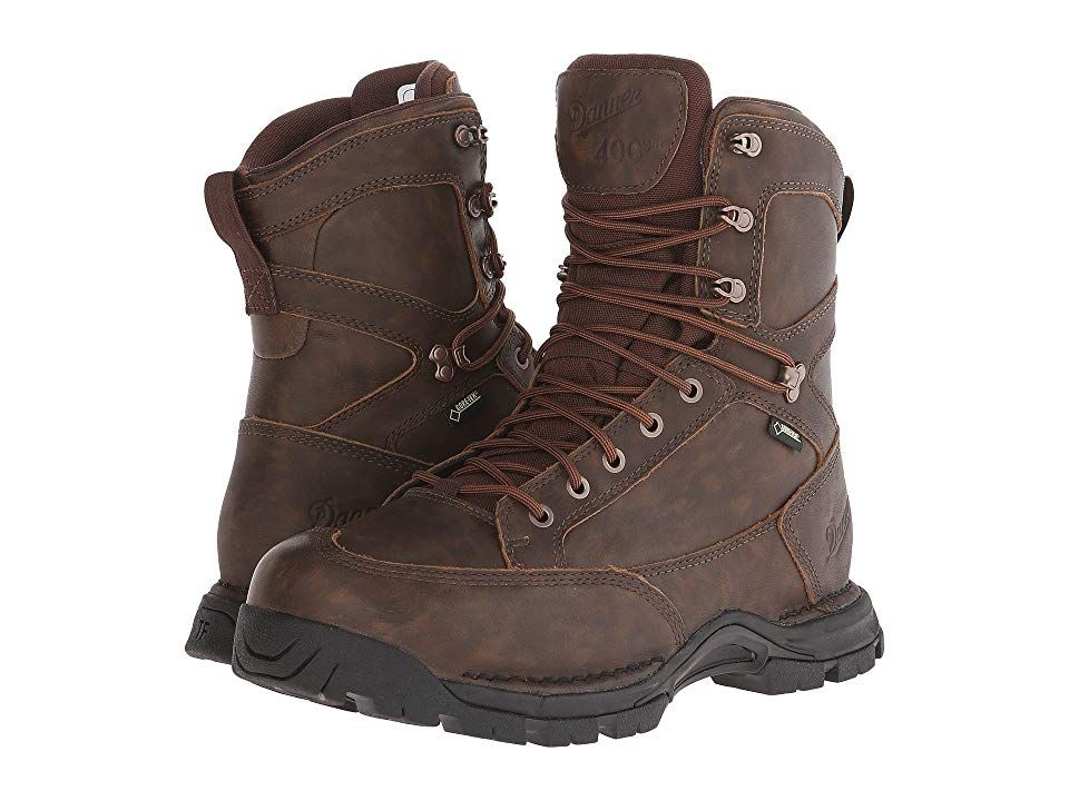 a989628d1bb Danner Pronghorn 8 All-Leather 400G (Brown) Men's Shoes. The Danner ...