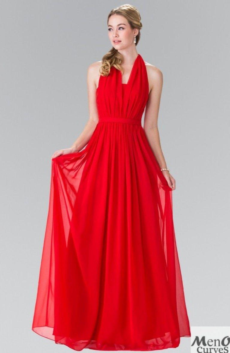Precio de vestidos de fiesta rojos