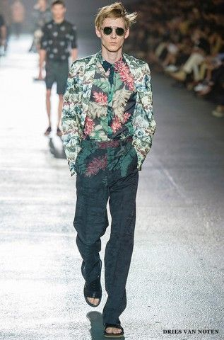 Dries Van Noten. Floral.