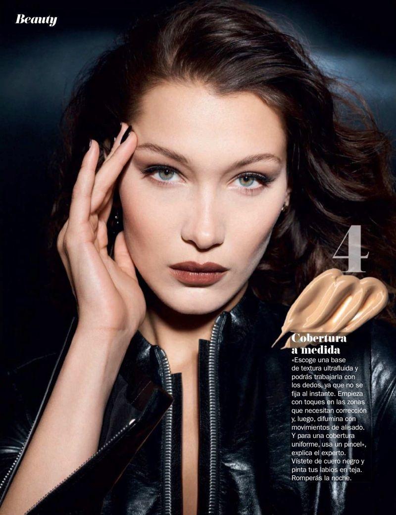 47f8ebddb28 Bella Hadid Dior Makeup Cosmopolitan Spain Editorial