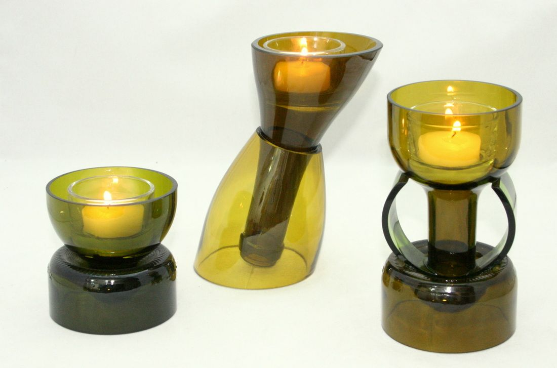 4655659 1 100 727 pixels recycled bottles for Wine bottle candle holder craft