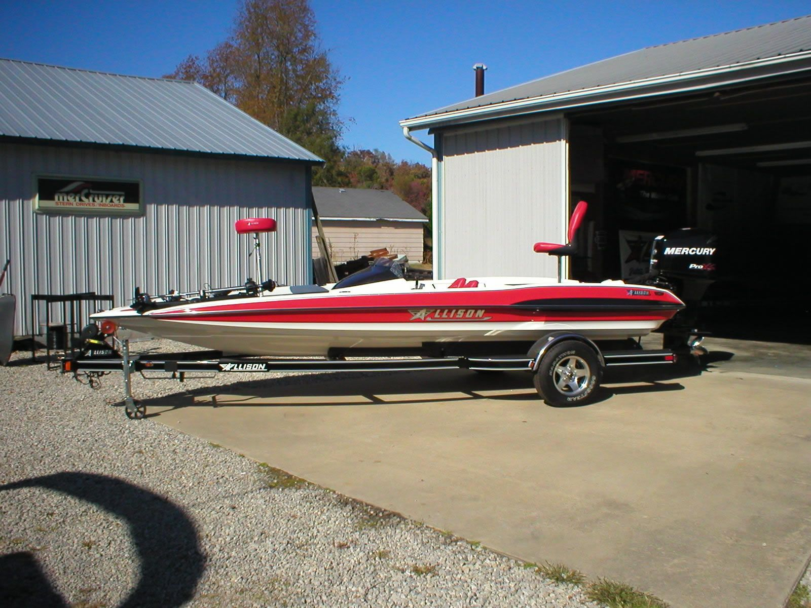 Allison XB2003 /w 175 Merc ProXS | Bass Boats | Boat, Bass