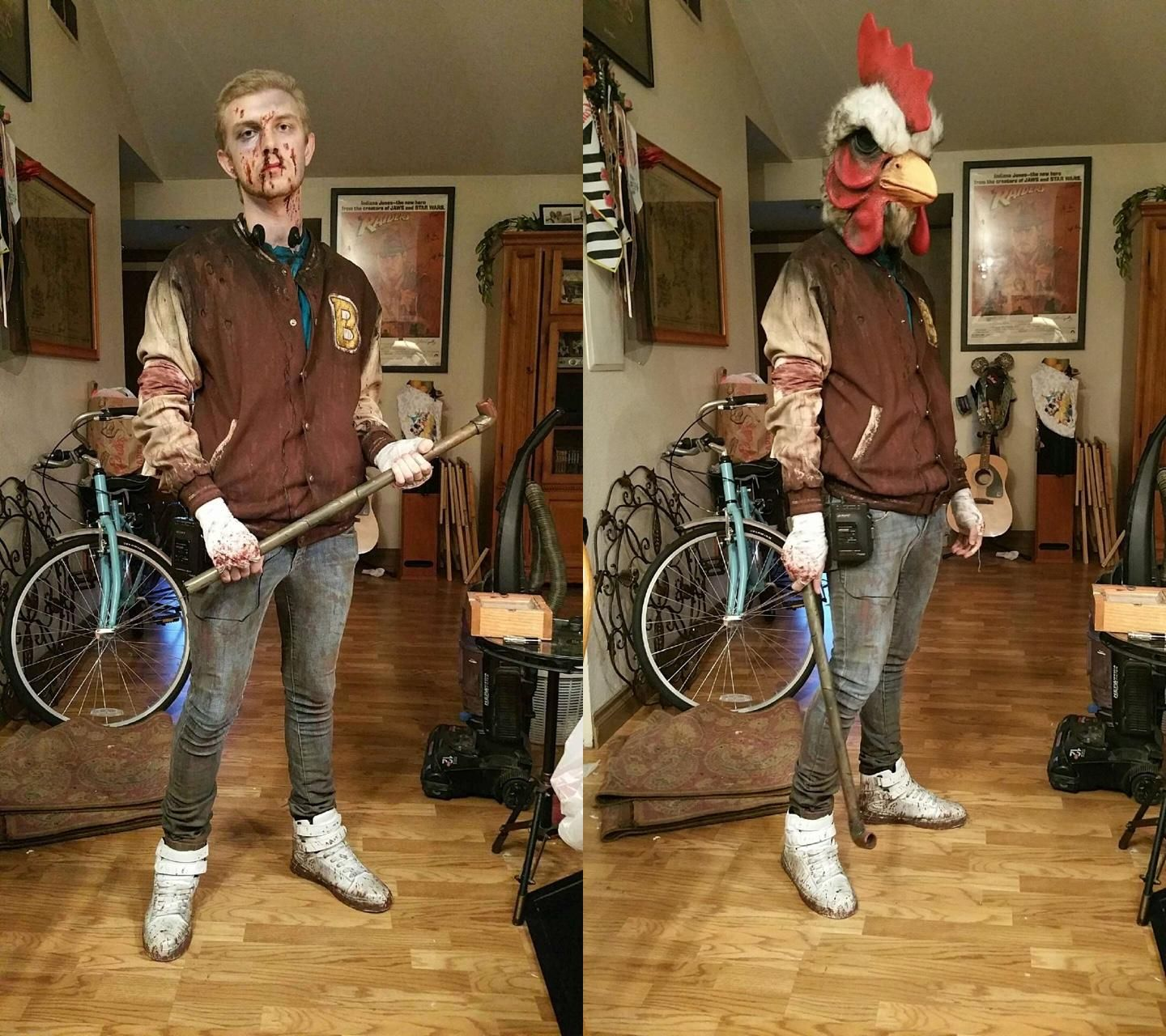 The Best Jacket Cosplay I Ve Ever Seen Imgur Hotline Miami Miami Art Cosplay