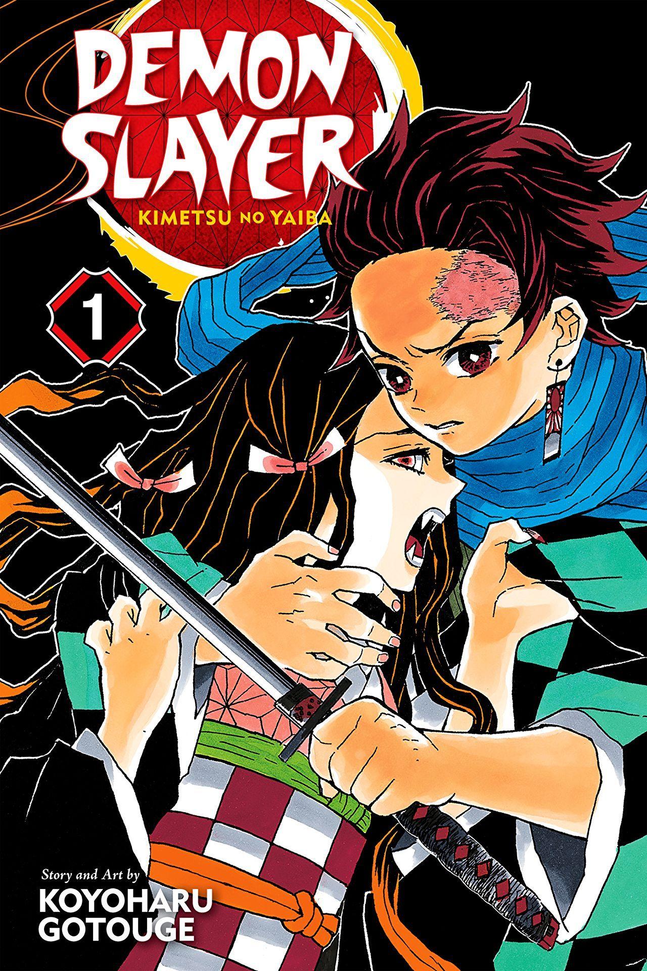Demon Slayer Kimetsu no Yaiba Vol. 1 Anime demon, Anime