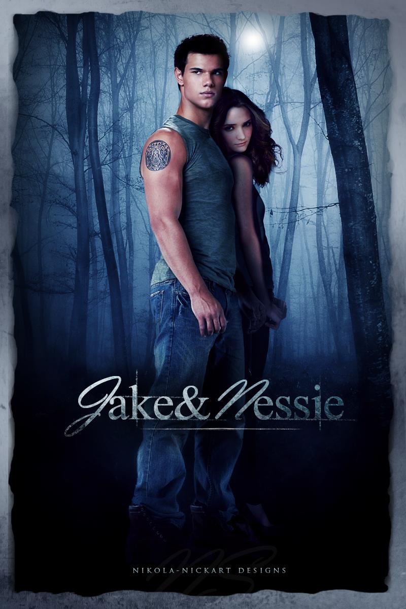 Jake and Nessie - Christie Burke as teenage Renesmee Cullen - Breaking Dawn Part 2