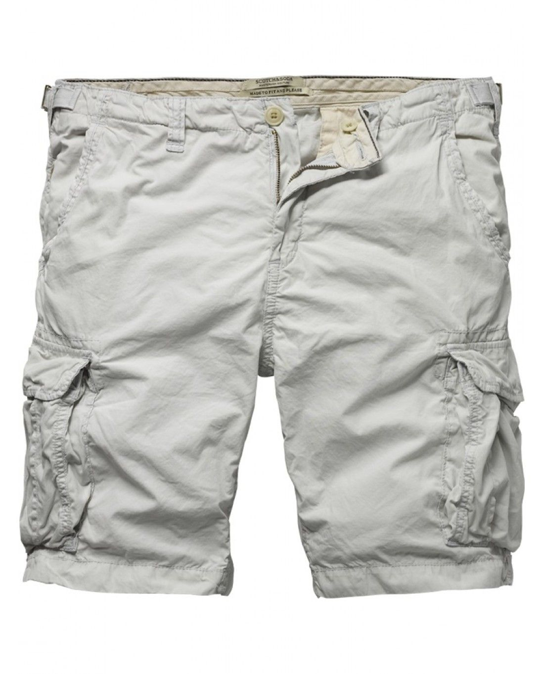 Bright cargo short - Shorts - Scotch & Soda Online Shop