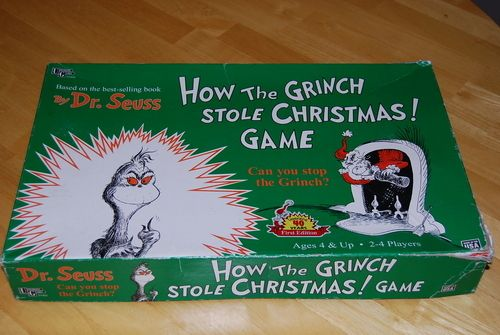 Christmas Board Games 2019.How The Grinch Stole Christmas Game Image Boardgamegeek