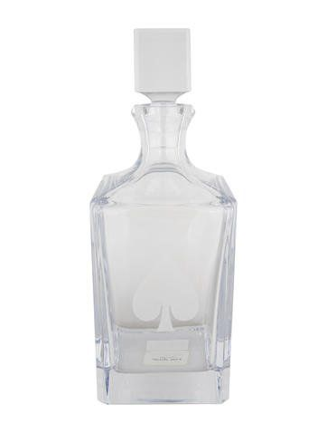 b62a18a98b8 Kate Spade New York Gin Rummy Whiskey Decanter