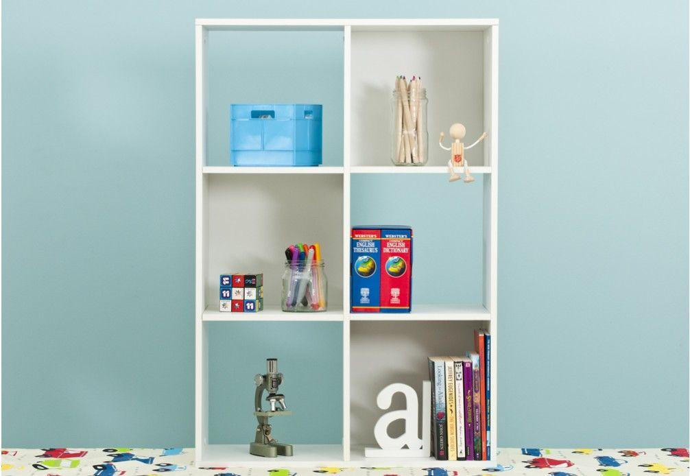 Kubix 6 Cube Storage Unit | Super Amart | Montessori | Pinterest ...