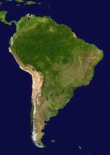 Geography of South America the free encyclopedia