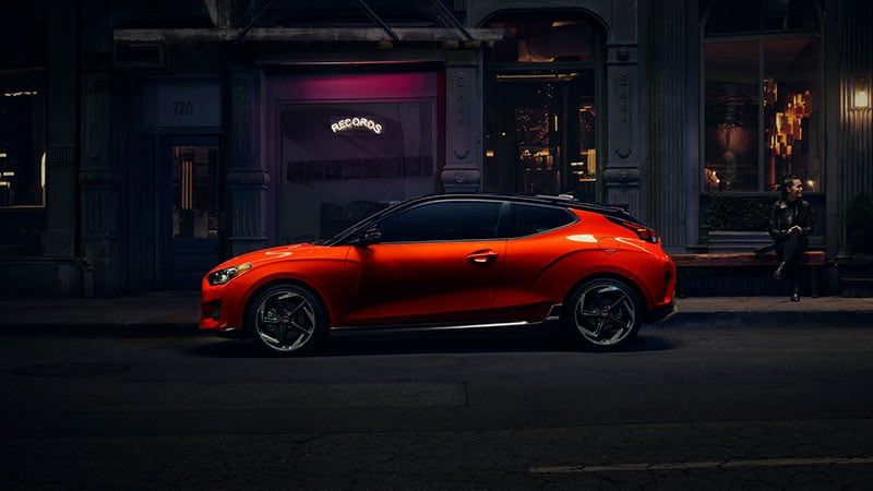 2019 Hyundai Veloster Turbo Ultimate In Sunset Orange Hyundai