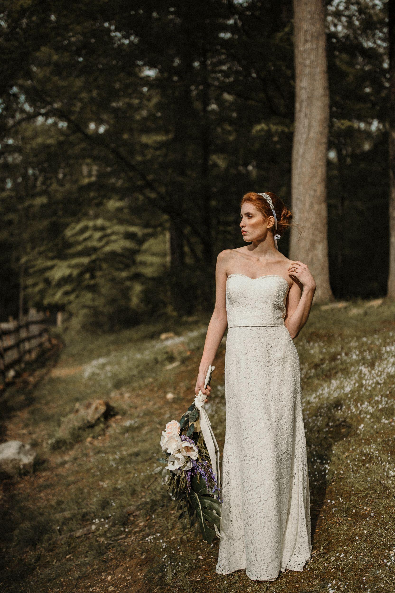 Josephine lace bridesmaid dress aw bridal wedding dresses