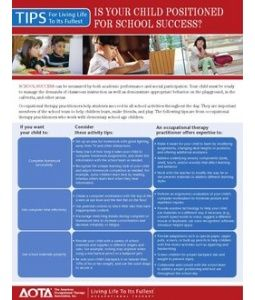 Is your child positioned for school success? - Re-pinned by @PediaStaff – Please Visit http://ht.ly/63sNt for all our pediatric therapy pins