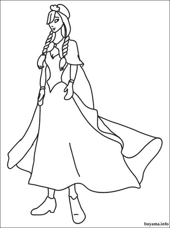 Disney Princess Anna Malerei   Malen Spiele   Disney coloring ...