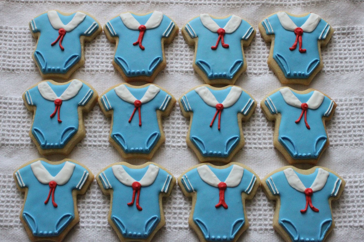 Nautical Sailor Onesie Cookies For Baby Shower Favor Or Gift. $75.00, Via  Etsy.
