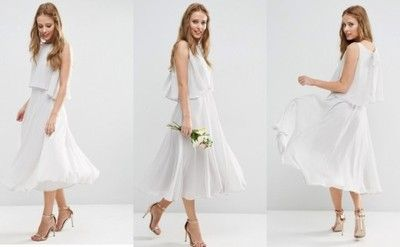 114a00900 Asos Sukienka Midi Rozkloszowana 34 6726075383 Oficjalne Archiwum Allegro Dresses Fashion White Dress
