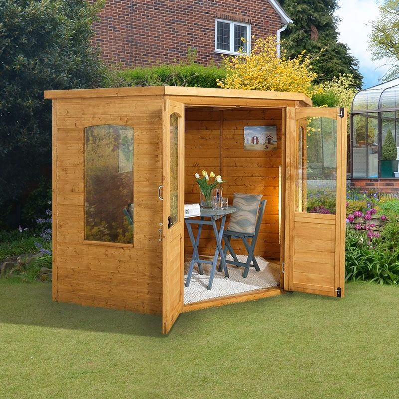 Corner Summerhouse 6 X 6 Go to