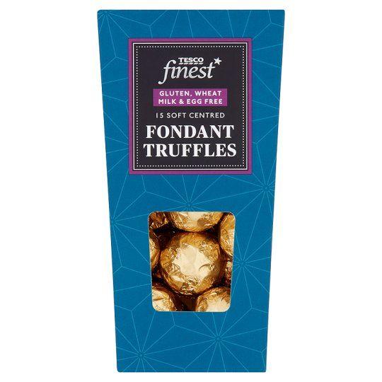 Finest Free From Truffles 156g Vegan Supermarket Tesco