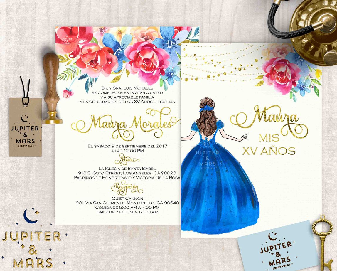 15 Anos Dresses From Mexico: Pin By Montrose Designs On Birthday Party Invitations