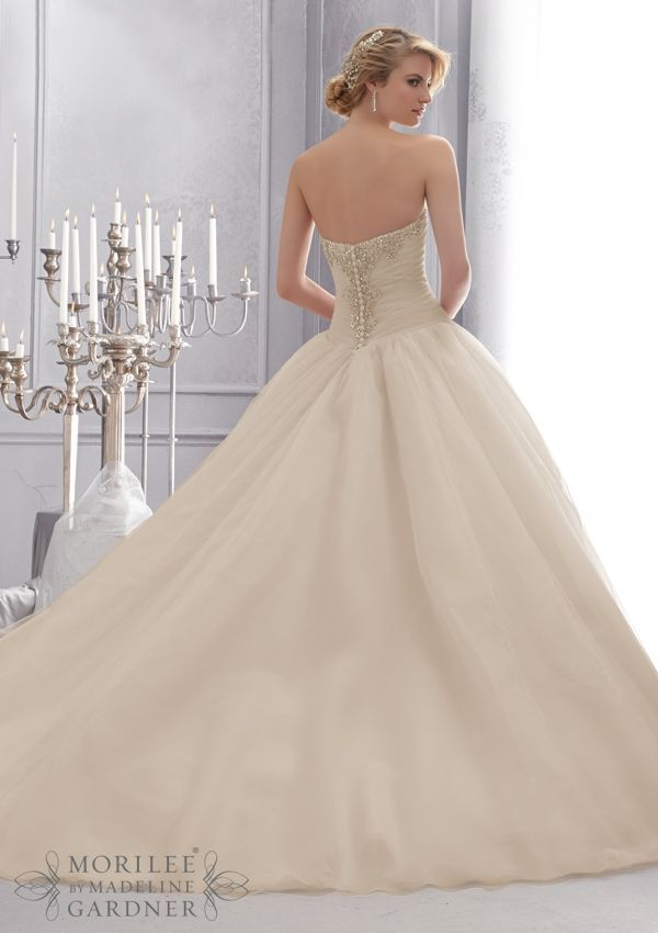 Ball Gown Wedding Dresses : Bridal Gown From Mori Lee By Madeline ...