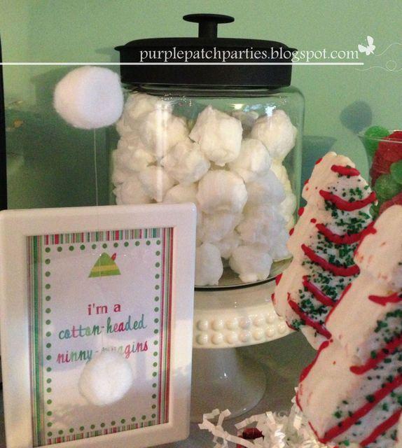buddy the elf christmasholiday elf movie themed christmas party - Elf Christmas Party Decorations