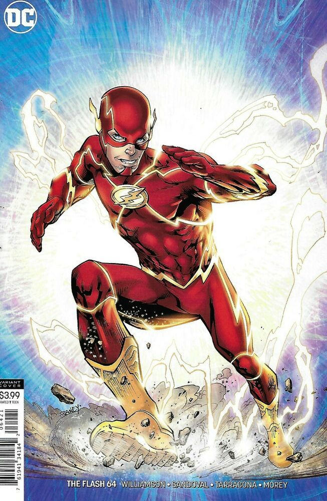 The Flash Comic Issue 64 Limited Variant Modern Age First