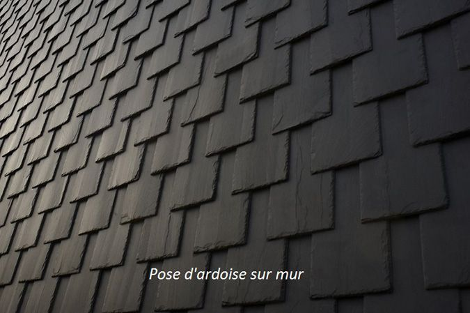 Mur En Ardoise Finition Extrieur DArdoise Design Avec Ardoise