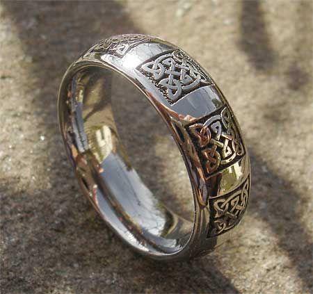 green amithyst celtic wedding ring example of wedding