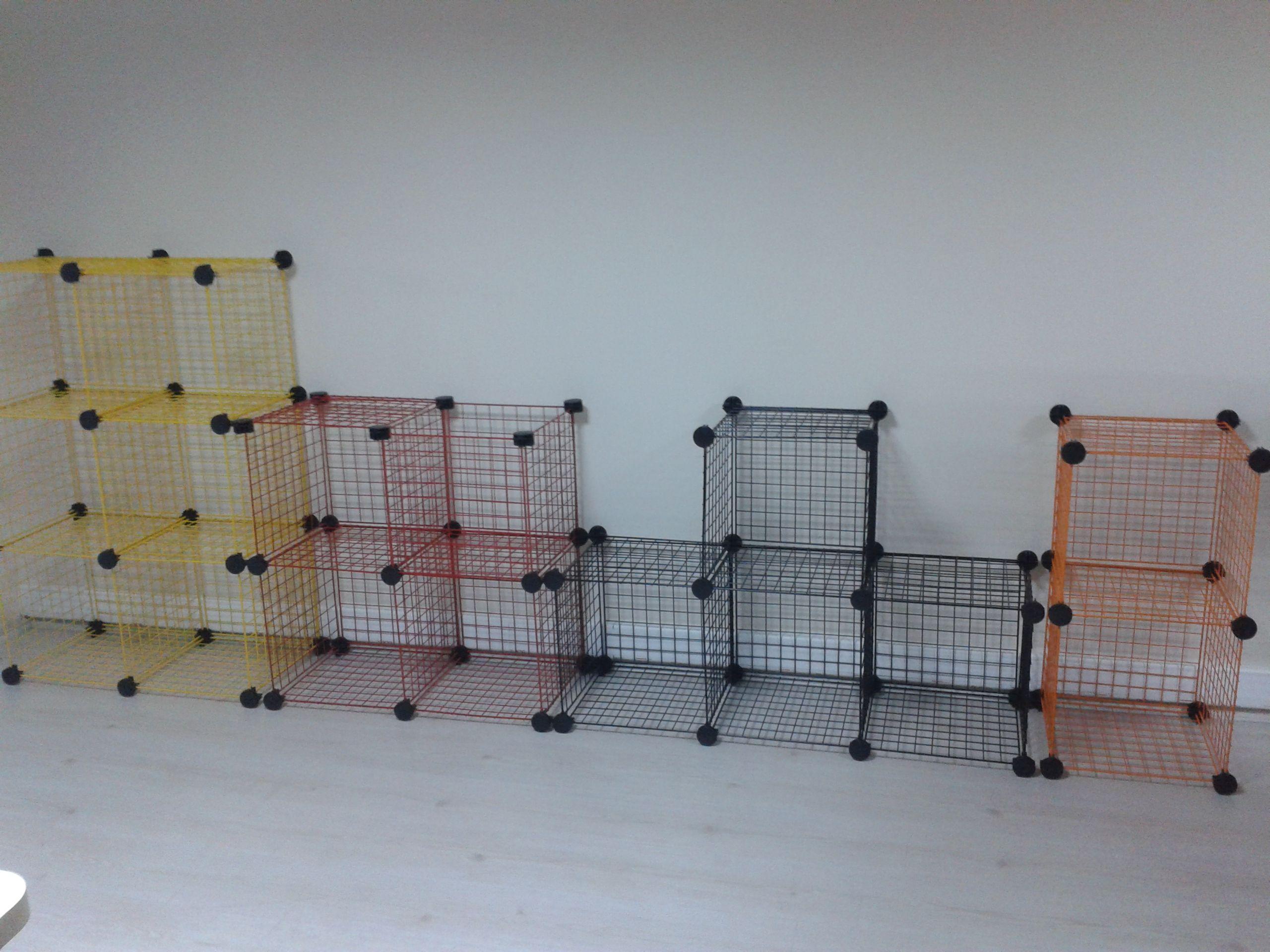 Dekoratif ve şık düzenleyiciler oluşturmanızı sağlayan tel paneller ...