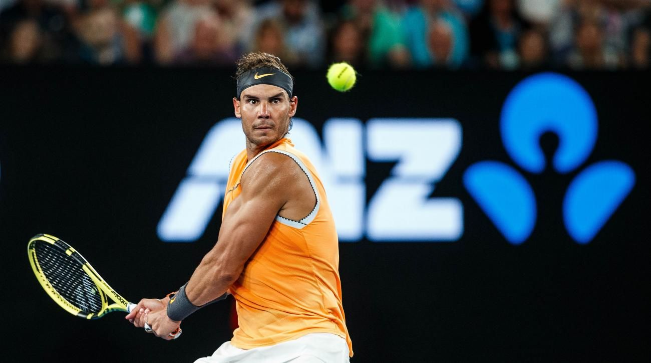 d9c1ca10a7c Rafael nadal babolat tennis racket amazon australiaopen shortsleeve nike  vamos kingofclay jpg 1300x724 Rafa nadal racquet