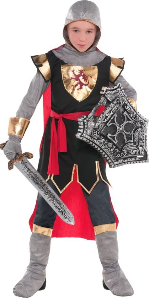 Boys Brave Crusader Costume - Party City Comprar Disfraces 1244a7f9a032