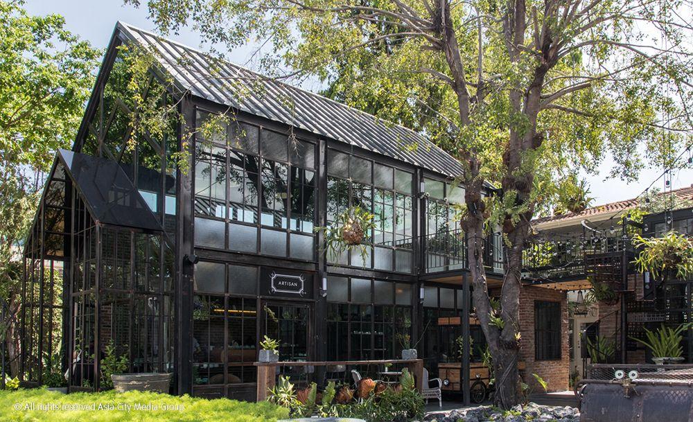 Greenhouse Restaurant Kiaw Kai Ga บ้านกระจก